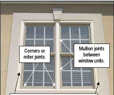 EIFS & Stucco Window Leak Problems