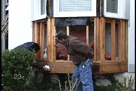stucco homes windows leak fixes