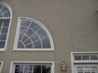 Problems Stucco EIFS window glazing