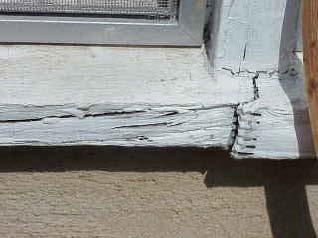 EIFS windows leak miter joints